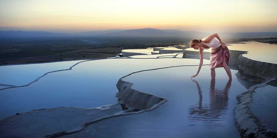 Discover the white wonderland of Pamukkale's calcite pools and enjoy limitless spa treatments in this ancient Greco Roman spa town.